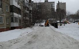 Уборка снега на придомовых территориях