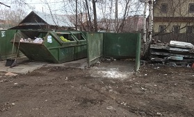 Вывоз мусора с контейнерных площадок