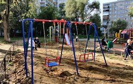 Благоустройство детской площадки по адресу ул. Коломенская, 19