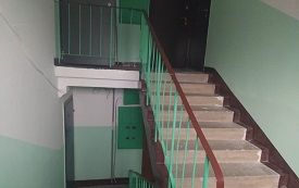 Косметический ремонт подъезда в доме по адресу ул. Косьвинская, 13